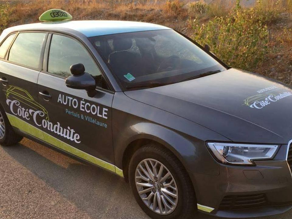 Auto-école Cote conduite Pertuis Villelaure