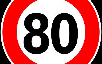 VITESSE LIMITEE A 80 Km/h
